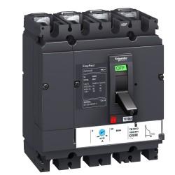 Circuit breaker Compact CVS100B, 4p, 25kA, 100A, TMD trip unit