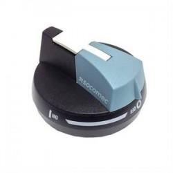 External handle with 1 position padlocking, 100..125 A, S00, I - 0 - II, black IP65