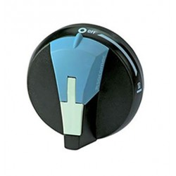 Door interlocked external handle for SIRCO M, black, 16..80 A, I- 0 - II, S00, IP65