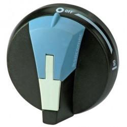 Door interlocked external handle for SIRCO M, black, 16..80 A, I-0, S00, IP65