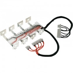 Voltage tapping and power supply kit, 4P, 125..160 A, 0 right