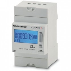 Electrical energy meter COUNTIS E11, direct, 1 phase, 63A
