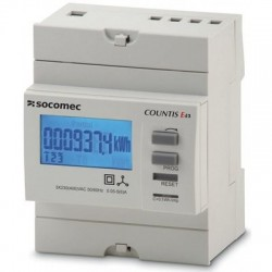 Electrical energy meter COUNTIS E43, LCDmodule, 3 phase, 5A
