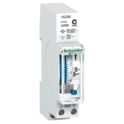 Mechanical time switch Acti 9, IH, 24 h, 100h memory