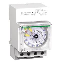 Mechanical time switch Acti 9, IH, 24 hours + 7 days, 150 h memory