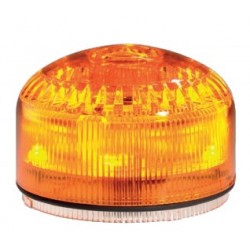 Modul light-sound, orange color, 12/24 V AC/DC. SIR-E LED JUNIOR