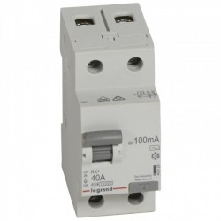 Residual current circuit breakeR ID K, RX3, 2P, 40A, 100 mA, AC type