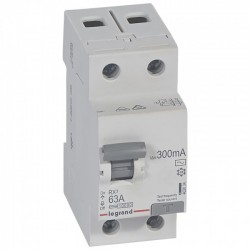 Residual current circuit breakeR ID K, RX3, 2P, 63A, 300 mA, AC type