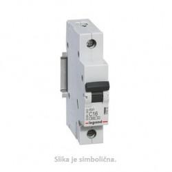 Miniature Circuit Breaker, 6kA,1P, 6A, B curve code