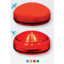 Light modul orange color, XLF JR PROXIMITY AMB. 12/24 V AC/DC, stedy light. IP 66.