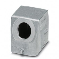 Sleeve housing B6, for single locking latch, Die-cast aluminum, cable outlets: 1, lateral, 52 mm, cable gland: none, support sl