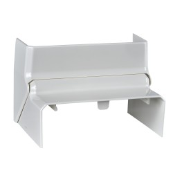 Internal corner for installation trunking, adjustable, 101x50 mm