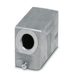 Sleeve housing B16, for single locking latch, Die-cast aluminum, cable outlets: 1, lateral, height: 60 mm, cable gland: none, s