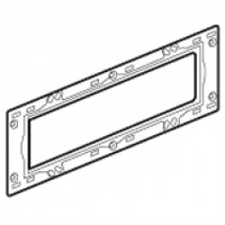 Support Mosaic, supplied with screws, 6 modules