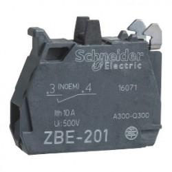 Single contact block for head O22 1NO silver alloy screw clamp terminal