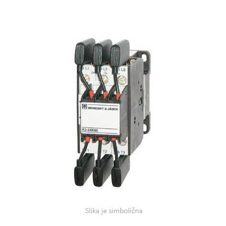 Switching contactor, 3P, 25kVAr, 0NO+0NC, 230V AC, 50Hz