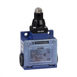 Limit switch XCKM - steel roller plunger - 1NC+1NO - snap action - Pg11