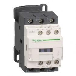TeSys D contactor - 3P(3 NO) - AC-3 - max 440 V 9 A - 24 V DC coil.
