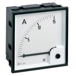 Ampermetar analogni za istosmjernu struju RQ72M, dimenzija 72 x 72 mm,, ulaz: 0 (4) - 20 mA dc (živa nula), sa sklalom 0 - ???