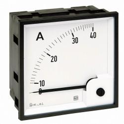 Ampermetar direktni RQ96E, dimenzija 96 x 96 mm, ulaz: 10A ac, skala: 0 - 10A