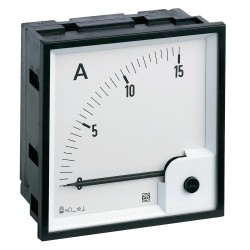 Ammeter AC, analog, 96x96 mm, scale 0..30 A