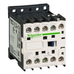 TeSys K control relay - 4 NO - max 690 V - 230 V AC coil.