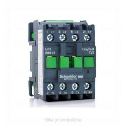 Motor contactor 3P TVS, 1NO 4kW AC3 230VAC