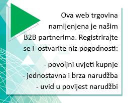 Registrirajte se kao partner i ostvarite niz pogodnosti
